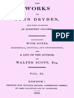The Works of John Dryden, now first collected in Eighteen Volumes, Volume 11