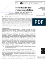 A generic structure for business process modeling.pdf