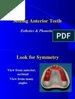 14. Set Anterior Teeth.ppt