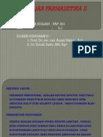 Bahan Ajar Farmasetika II