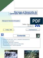 Barreras Desarrollo Mini Hidraulica en Mexico 19 Mayo 09