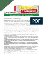 Mozione Angelo Ancona