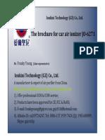 Ionkini Brochure for 6271