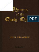 Hymns of the Early Church by John Brownlie
