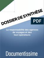 La Responsabilite Des Agences de Voyages Et Des Tour Operateurs 156