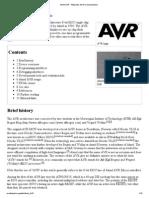 Atmel AVR - Wikipedia, the free encyclopedia.pdf