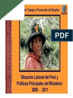 Situacion Laboral - Politicas Al 2011