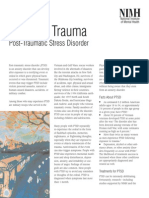 NIMH - Reliving Trauma - Post Traumatic Stress Disorder (PTSD)