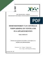 DIMENSIONEREN VAN CENTRALE verwarming in 6 appartmenten.pdf