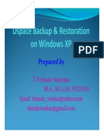 Dspace Backup Methods Step by Step