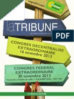Tribune du Congrès EELV 2013