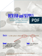 demand and supply report