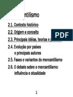 Aula 03 - Mercantilismo - Inicial