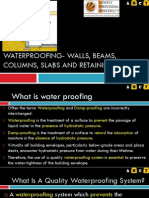 L25 Waterproofing of walls, beams, columns, slabs, retaining walls.pdf