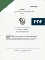 Trial Pahang Sejarah sem 3 ( SMK Sultan Abu Bakar, Kuantan)