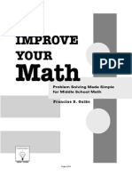 Francine Galko Improve Your Math Problem Solving Made Simple for Middle School Math 2002