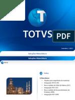 Setembro13 TOTVS Upgrade 2013 - Protheus - Manufatura