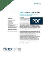 IBM Cognos Controller Funktionalitäten