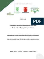 Publicación en Memorias Seminario Internacional