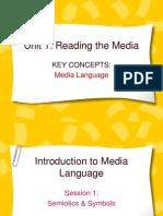 Intro to Media Language