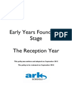 ARK Reception Year