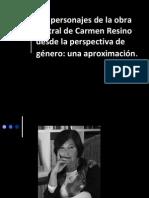 Los Personajes de La Obra Teatral de Carmen