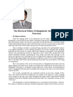 Electoral politics in Bangladesh, the issue and the non-issue.doc