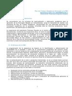 Plan de la asignatura Informática II FBC - F Ergueta