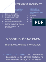 o Portugues No ENEM 09 Agosto 2012