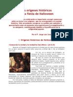 Los orígenes históricos de la fiesta de Halloween