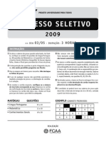 03 05 09 Com Gabarito PUPT