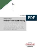eMarketer Mobile Commerce Roundup