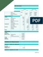 Plan de Financement Sur Un An