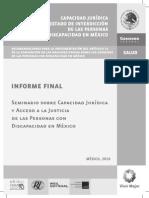 Capacidad Juridica Seminario CONADIS