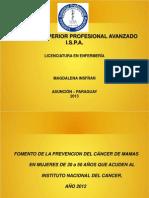 presentación Ca de mama