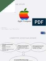 Apple Computer Case Study