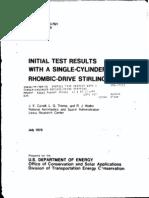sterling engine test