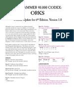 Warhammer 40k Orks 6th Ed V1.pdf