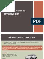 Los Métodos de la Investigación