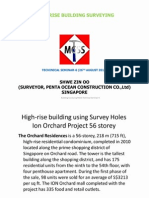 High Rise Building Surveying