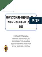 Re-Ingenieria de La Infraestructura de Una Lan