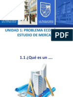 1.1 Problema Económico y Estudio de Mercado
