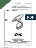 Skil 2585 Manual