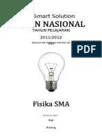 SMART SOLUTION UN FISIKA SMA 2012 (SKL 6 Indikator 6.3 Teori Relativitas).doc