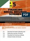 financing social security schemes
