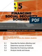 financing social security schemes