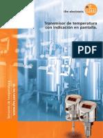 Ifm Temperature Sensors TD Brochure Spain 2013