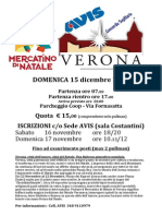 Gita ai mercatini di Verona