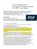 PREVENZIONE E RIDUZIONE INQUINAMENTO IPPC DIRETTIVA 96 91 CE.pdf