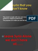 Nepoznata Syria.pps